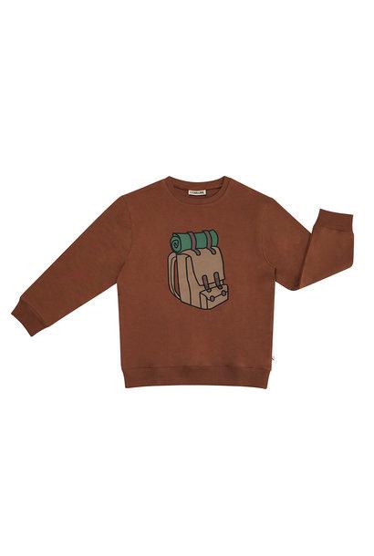 CarlijnQ sweater backpack brown