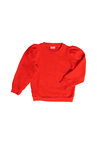 Maed for mini sweater loopy lobster red