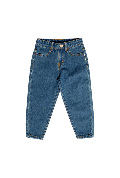 Maed for mini jeans baggy bull blue wash