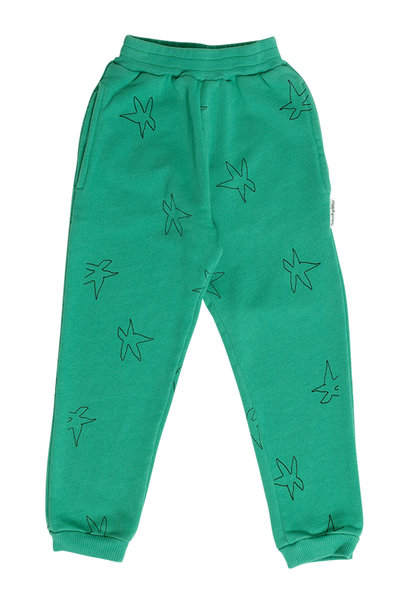 Maed for mini jogging pants dreamy dragonfly green star
