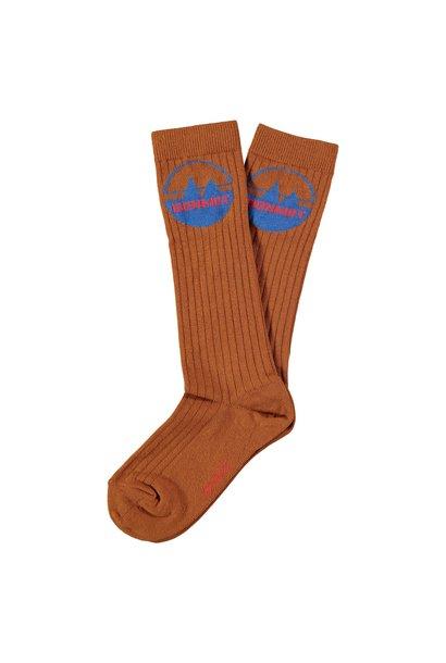 Bonmot socks mountains wood