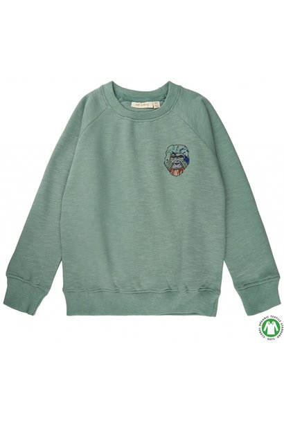 Soft Gallery sweater abyss green