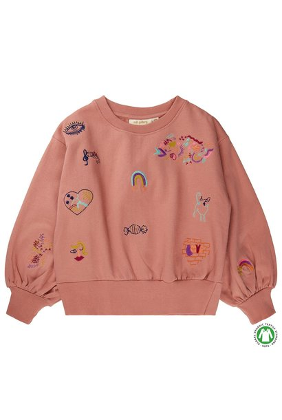 Soft Gallery sweater cameo brown