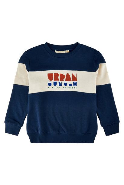 Soft Gallery sweater insignia blue
