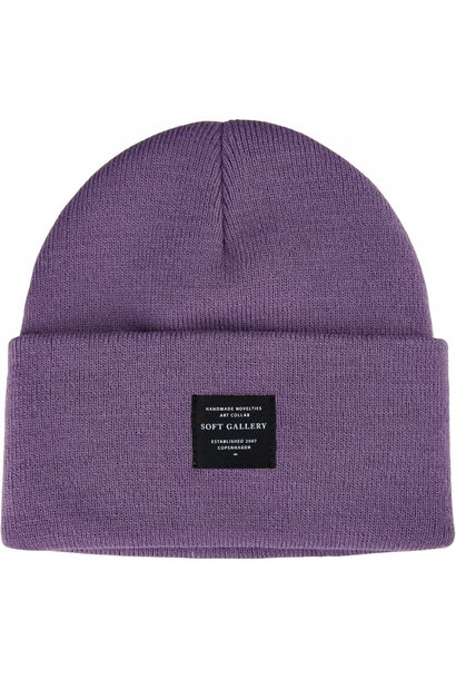 Soft Gallery beanie orchid mist