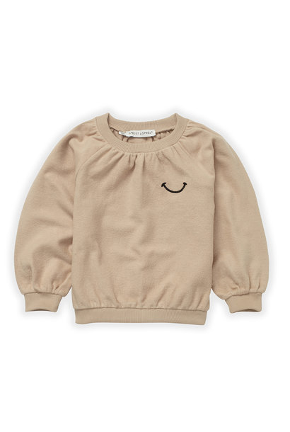 Sproet & Sprout sweater loose smile nougat