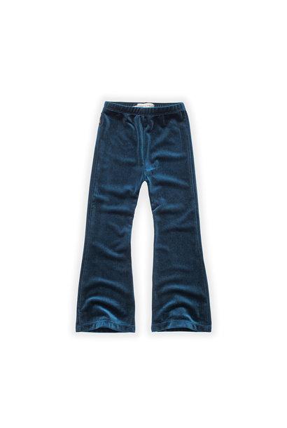 Sproet & Sprout flared legging velvet lake blue