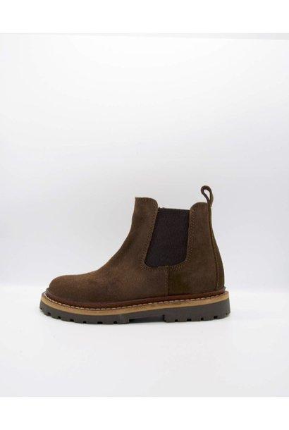 Du Loua Berlin chelsea boots du louis brown suede