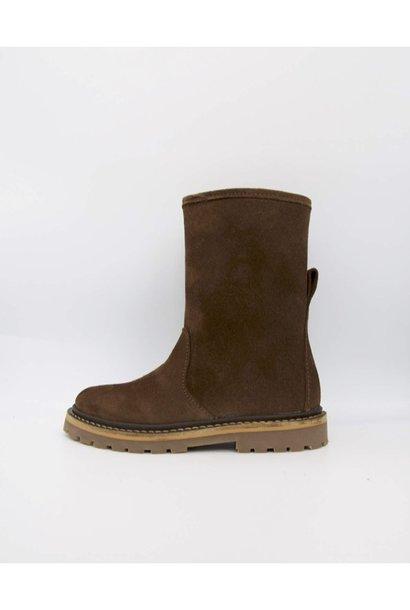 Du Loua Berlin profile boots du noa brown suede