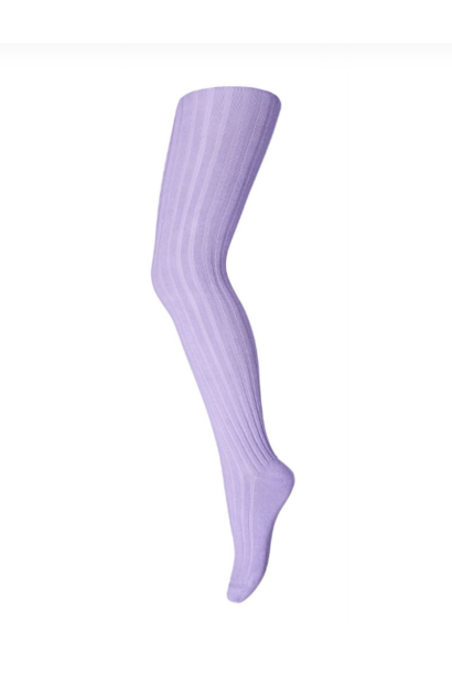 MP Denmark rib tights pastel lilac