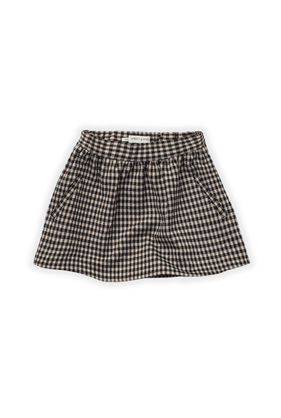 Sproet & Sprout skirt block check black