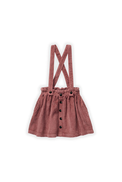 Sproet & Sprout corduroy skirt fig