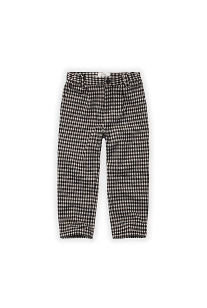 Sproet & Sprout chino pants block check black