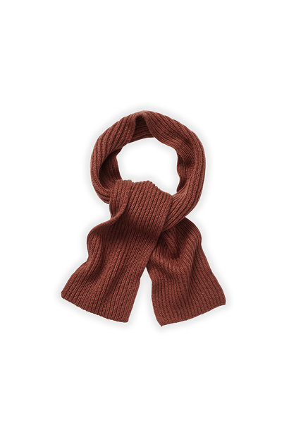Sproet & Sprout knitted scarf fig