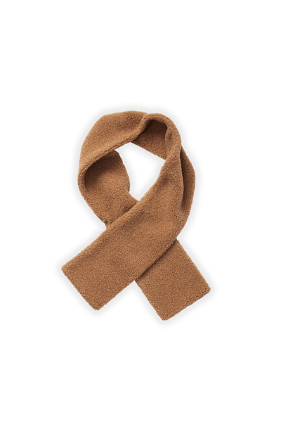 Sproet & Sprout knitted scarf teddy nougat