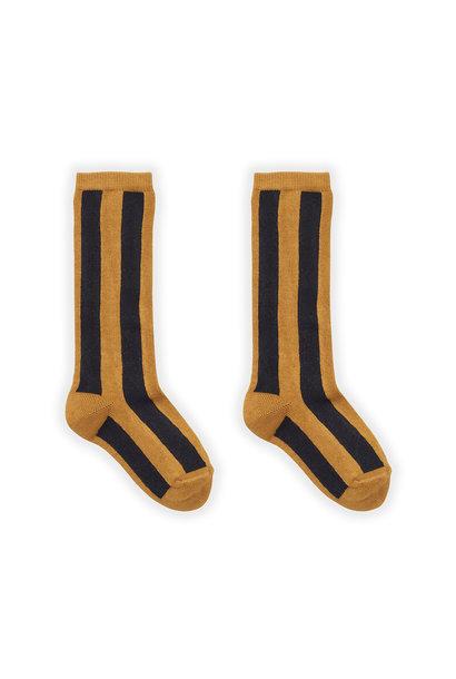 Sproet & Sprout socks stripe mustard