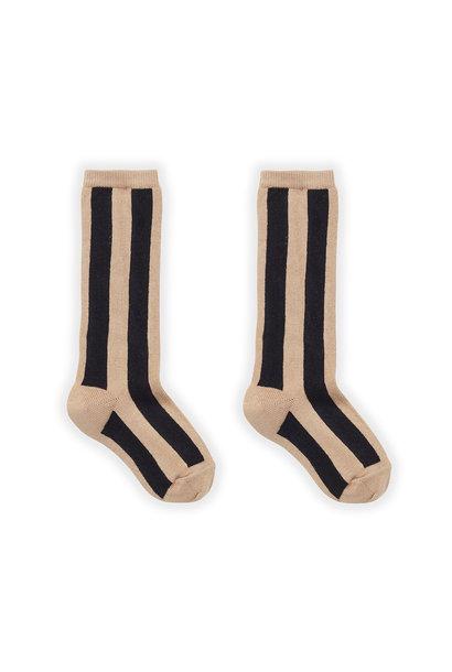 Sproet & Sprout socks stripe nougat