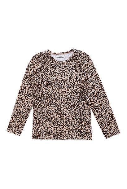Maed for mini longsleeve lazy lion leopard