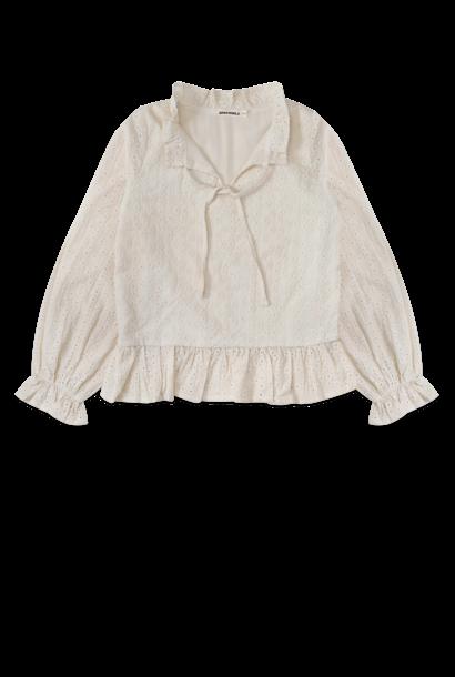 Ammehoela blouse kaja off white