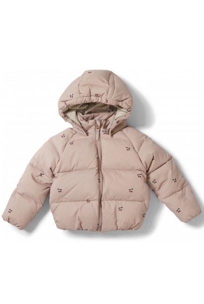 Konges Slojd jacket down cherry blush
