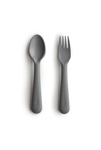 Mushie fork and spoon smoke