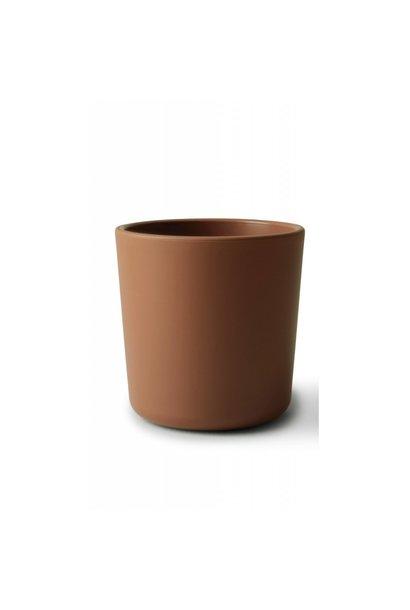 Mushie cup caramel