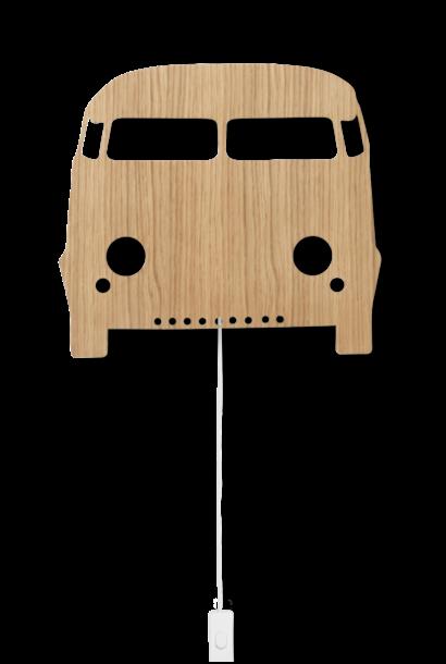 ferm LIVING car lamp oiled oak