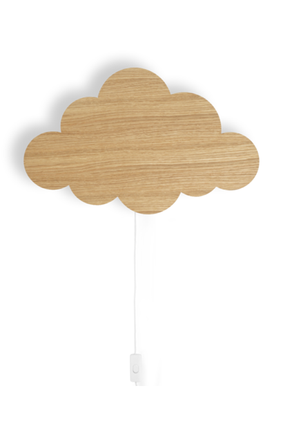 ferm LIVING cloud lamp oiled oak