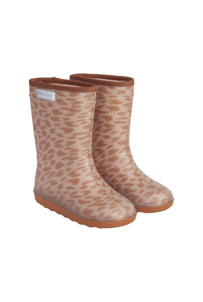 Enfant thermoboots print leather brown