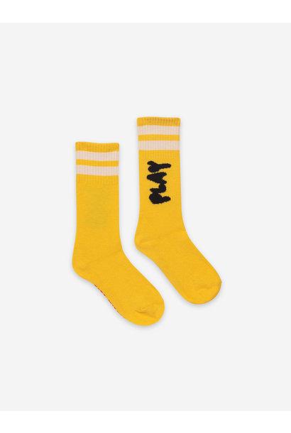 Bobo choses kids play long socks custard