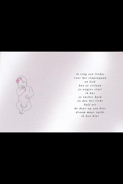 Touch of Floortje geboortekaartje baby meisje