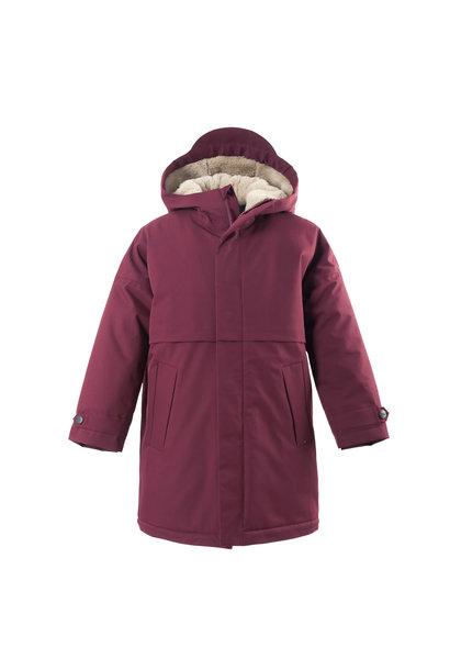 Gosoaky jacket desert fox tawny port red