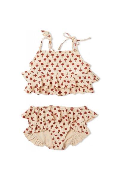 Konges Slojd manuca bikini poppyflower red