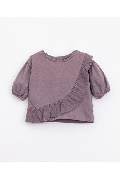 Play Up mixed t-shirt lavender