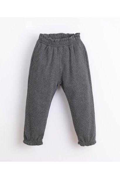 Play Up fleece trouser frame melange