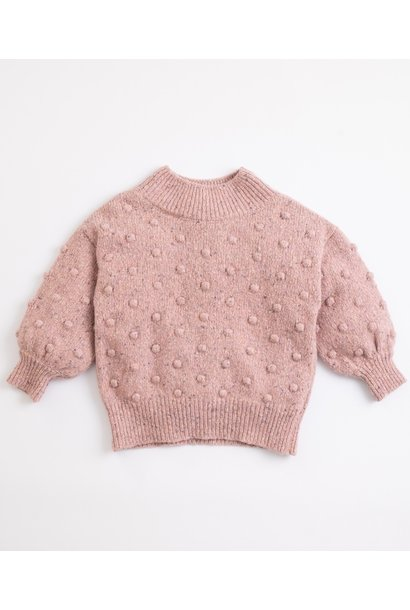 Play Up tricot sweater cor de rosa 04