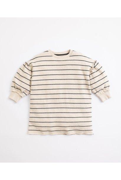 Play Up jersey dress striped miró frame