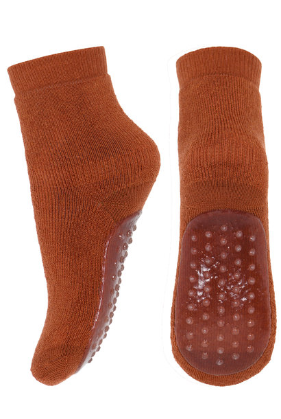 MP Denmark anti-slip socks wool sienna