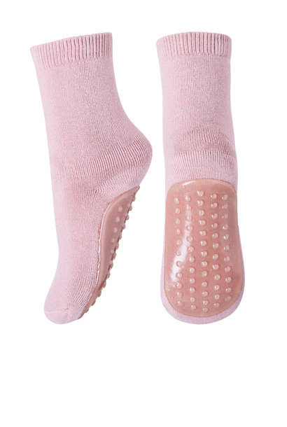MP Denmark anti-slip socks cotton rose grey