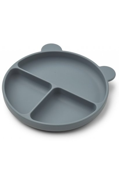 Liewood siliconen bord merrick dark blue