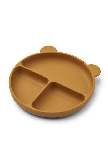 Liewood siliconen bord merrick golden caramel