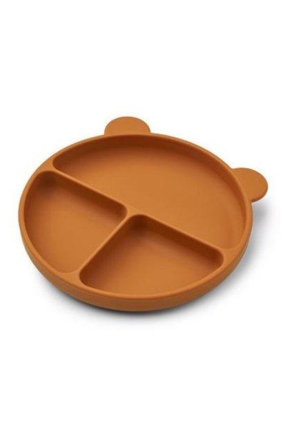 Liewood siliconen bord merrick mustard