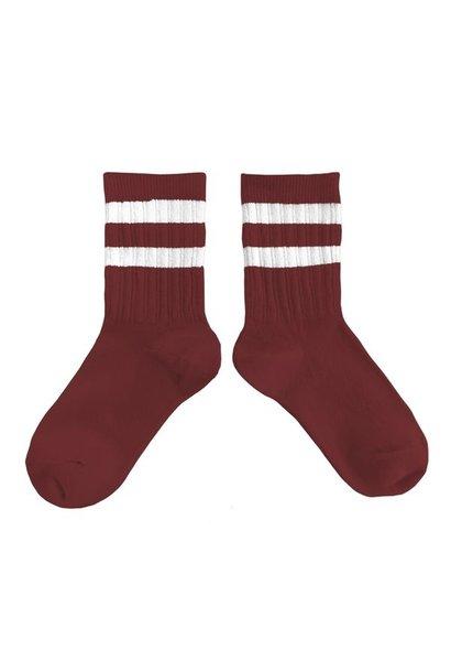 Collegien sokken nico châtaigne red