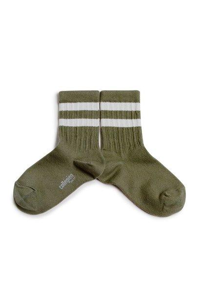 Collegien sokken nico vert forêt green