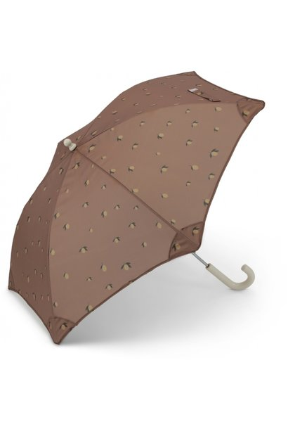 Konges Slojd kids umbrella lemon brown