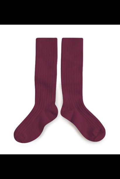 Collegien knee socks la haute framboise
