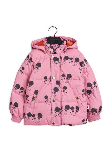 Mini Rodini jacket ritzratz puffer pink