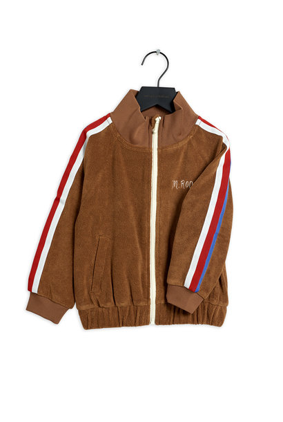 Mini Rodini jacket terry brown