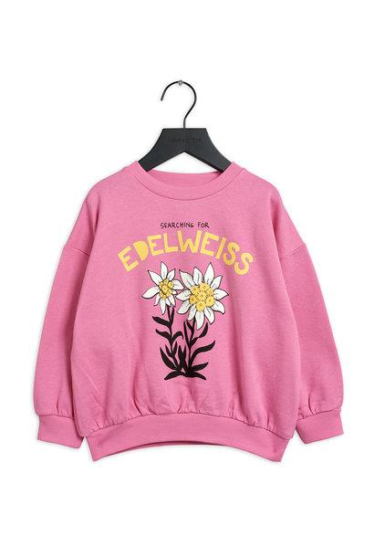 Mini Rodini sweater edelweiss pink