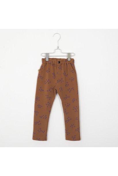 Lötie kids pants 5 pockets cinnamon blueberries
